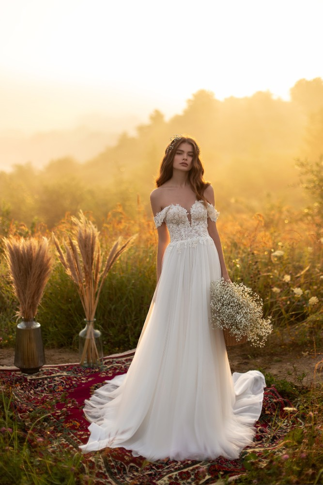 Brautkleid Andrea Designer Aria Bride Brautmodengeschaeft Boho Bride Boutique Gommiswald