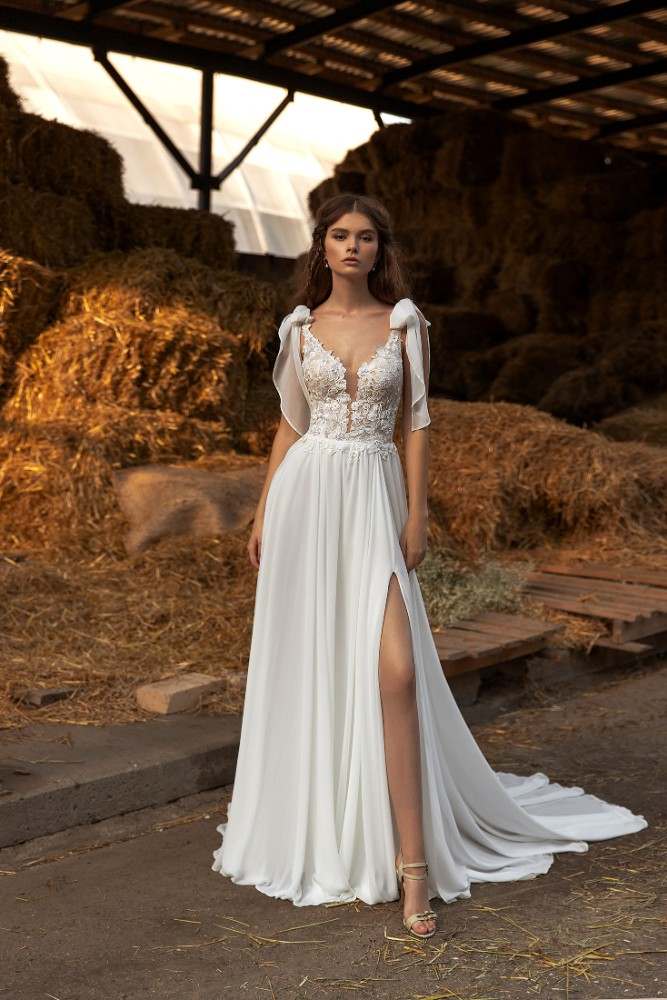 Brautkleid Linda Designer Aria Bride Brautmodengeschaeft Boho Bride Boutique Gommiswald