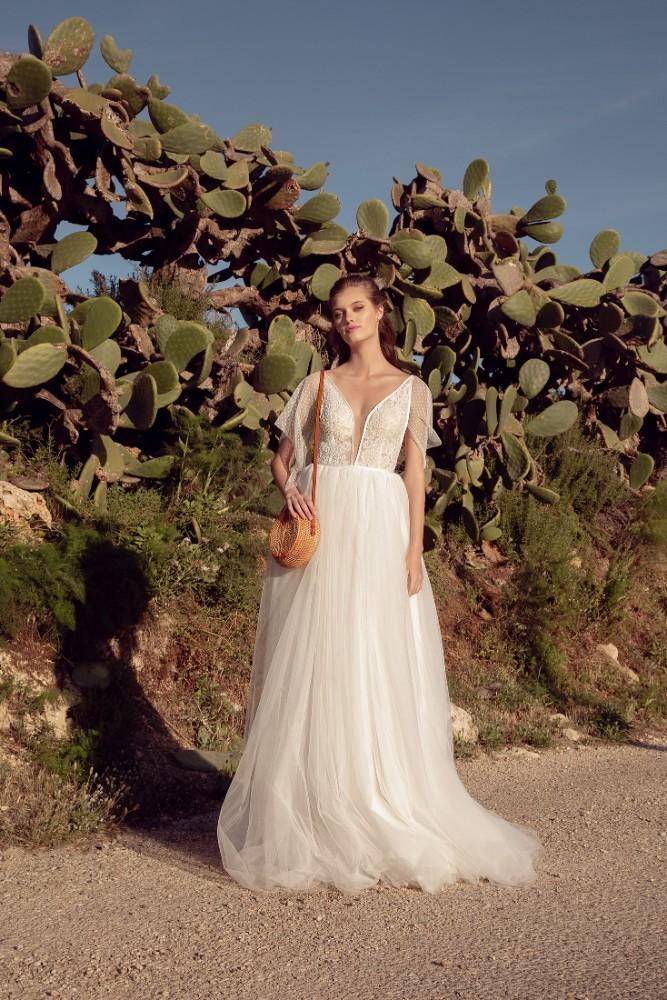 Brautkleid Clara Designer Aria Bride Brautmodengeschaeft Boho Bride Boutique Gommiswald