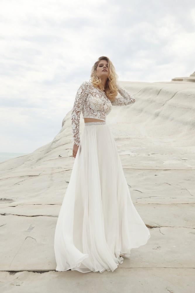 Top und Rock Designer Gala Brautmodengeschaeft Boho Bride Boutique Gommiswald