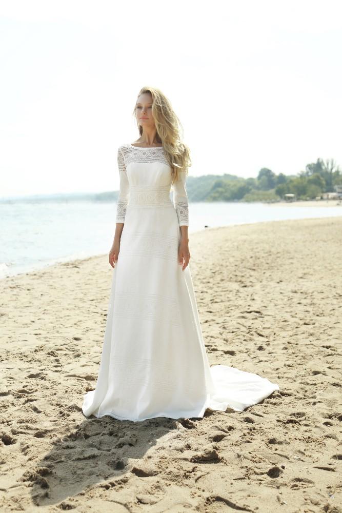 Brautkleid Aiko Designer Gala Brautmodengeschaeft Boho Bride Boutique Gommiswald