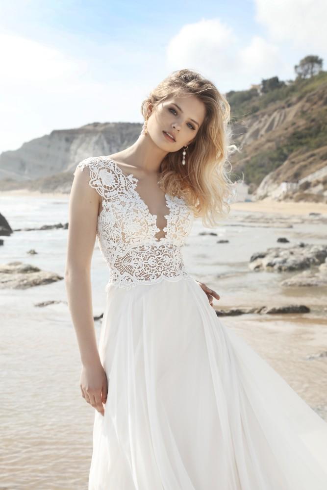 Brautkleid Calathea Designer Gala Brautmodengeschaeft Boho Bride Boutique Gommiswald