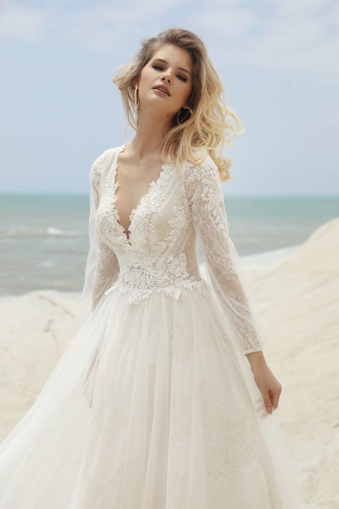 Brautkleid Capella Designer Gala Brautmodengeschaeft Boho Bride Boutique Gommiswald