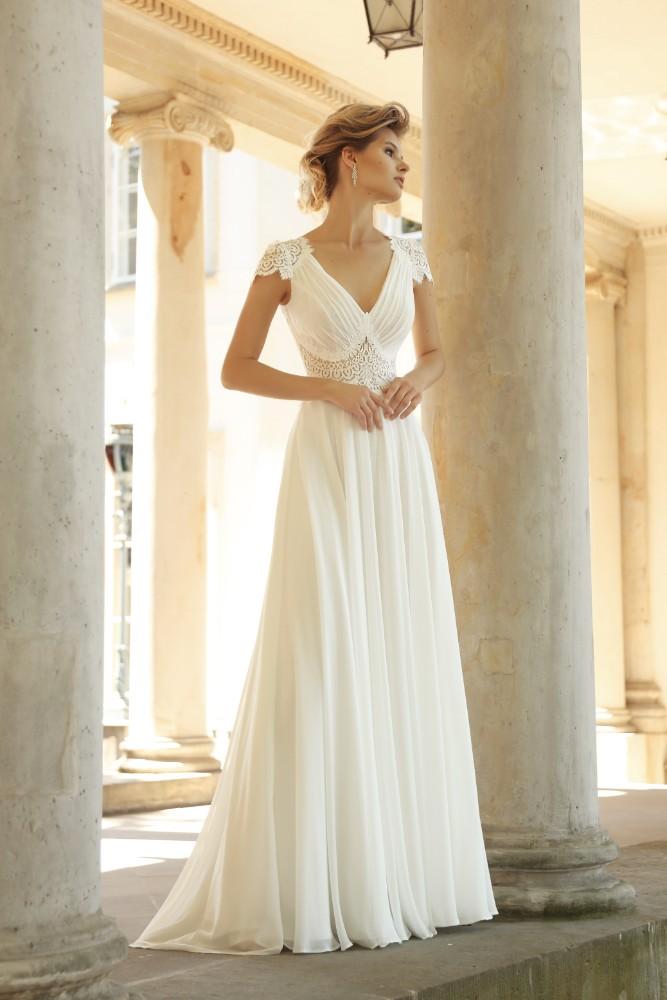 Brautkleid Claudine Designer Gala Brautmodengeschaeft Boho Bride Boutique Gommiswald