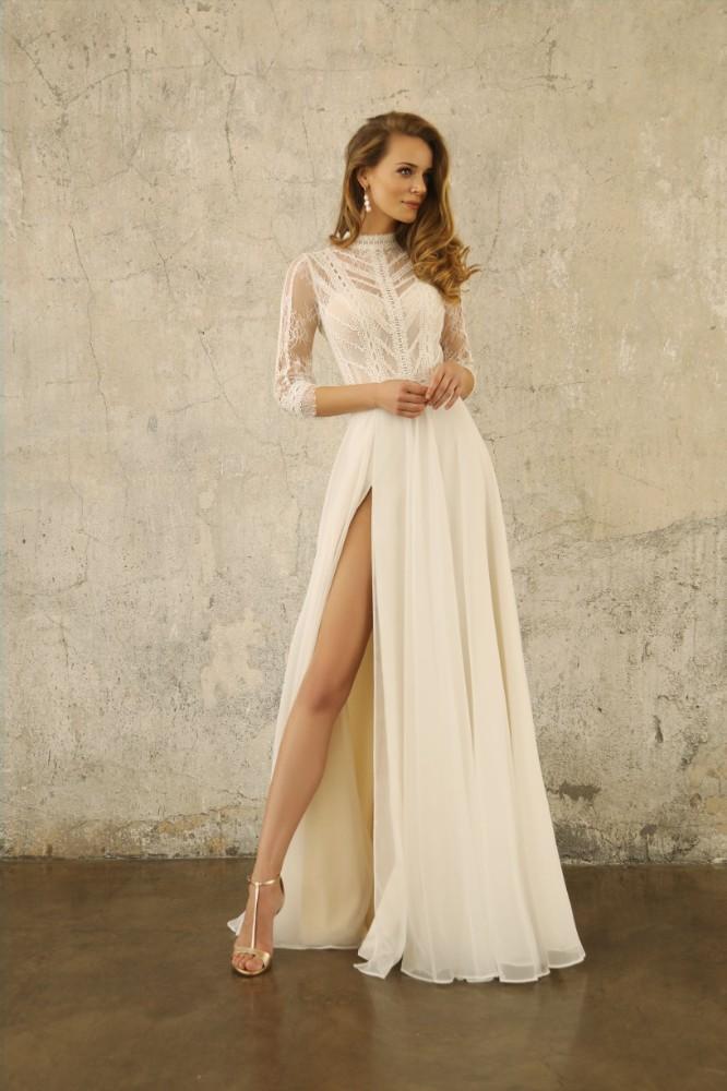 Brautkleid Damona Designer Gala Brautmodengeschaeft Boho Bride Boutique Gommiswald