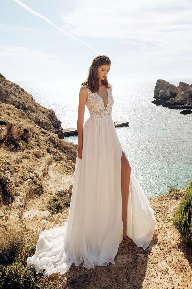 Brautkleid Gledis Designer Aria Bride Brautmodengeschaeft Boho Bride Boutique Gommiswald