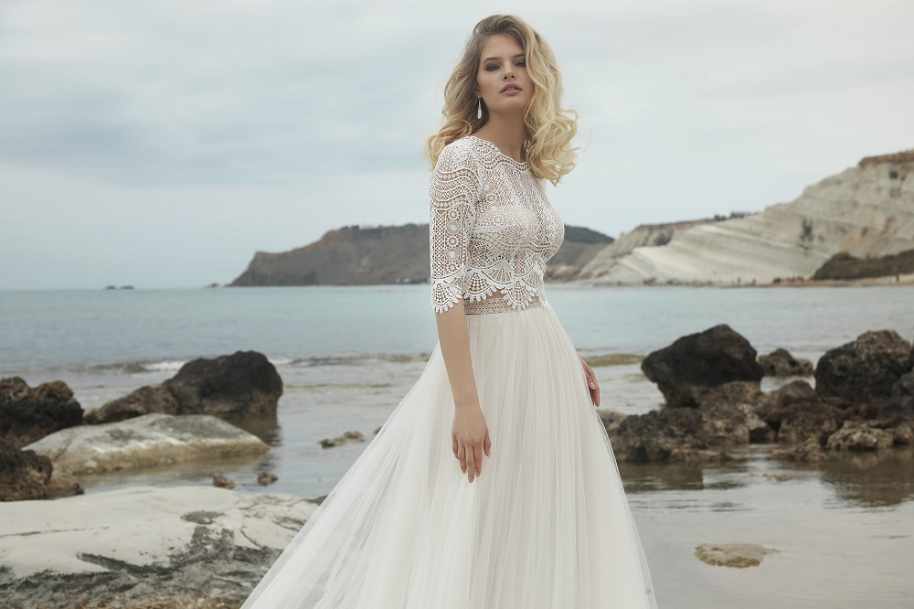 Brautkleid Castries Designer Gala Brautmodengeschaeft Boho Bride Boutique Gommiswald