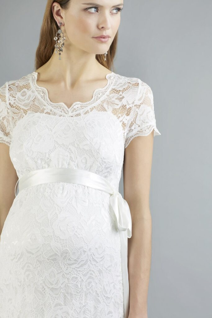 Designer Sweetbelly Boho Bride Boutique Brautkleider Abby Umstandsbrautmode