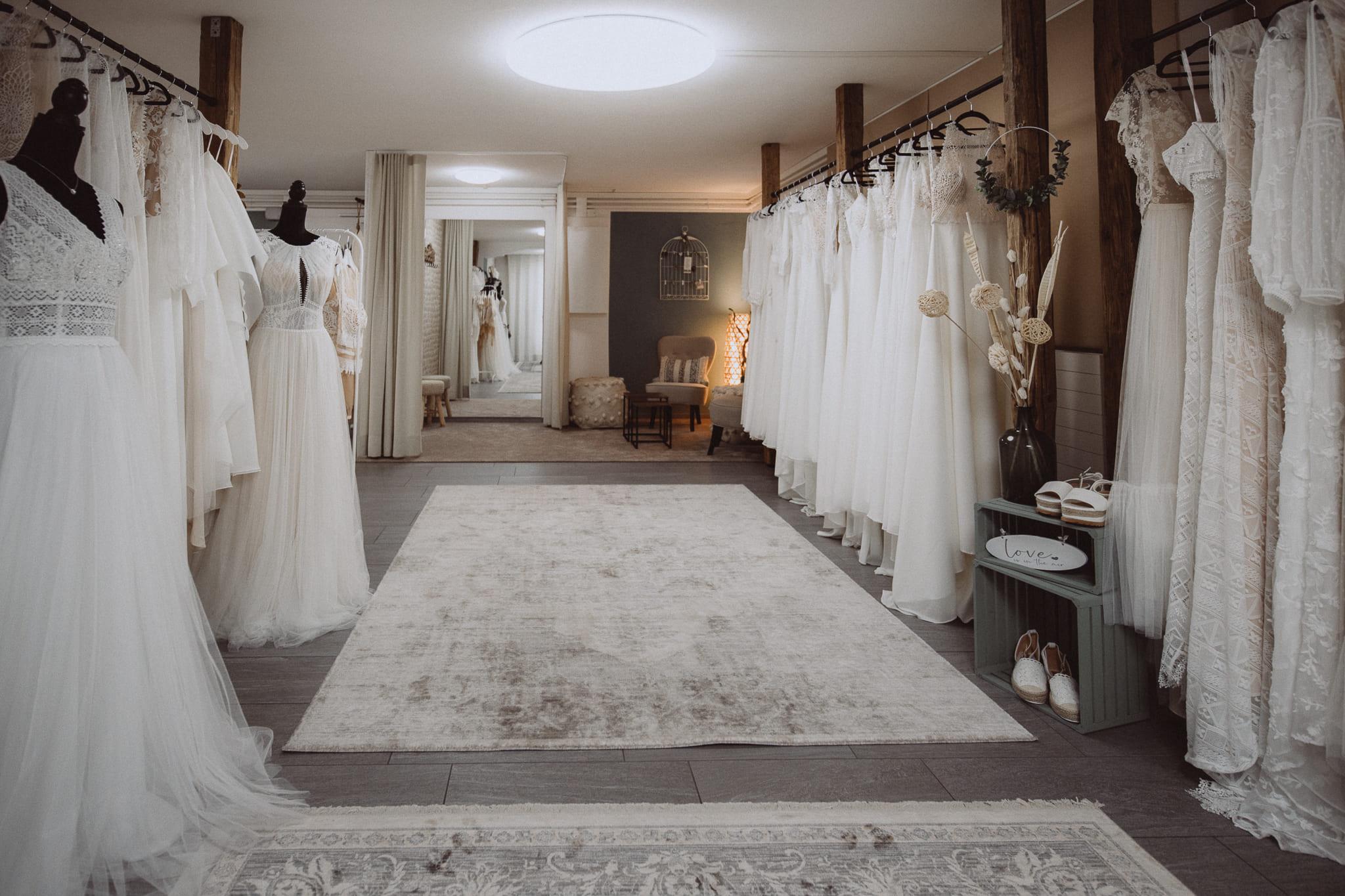 Boho Bride Boutique Brautmodengeschäft in Gommiswald